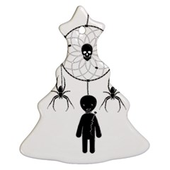 Voodoo Dream Catcher  Christmas Tree Ornament (two Sides)