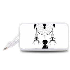 Voodoo Dream Catcher  Portable Speaker (white)