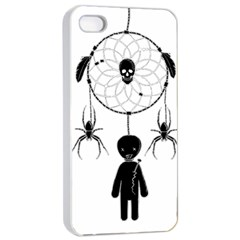 Voodoo Dream Catcher  Apple Iphone 4/4s Seamless Case (white)