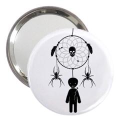 Voodoo Dream Catcher  3  Handbag Mirrors