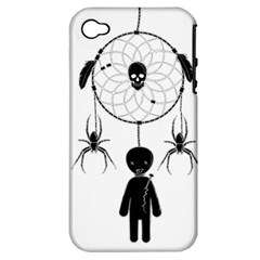 Voodoo Dream Catcher  Apple Iphone 4/4s Hardshell Case (pc+silicone)