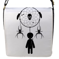 Voodoo Dream Catcher  Flap Messenger Bag (s)