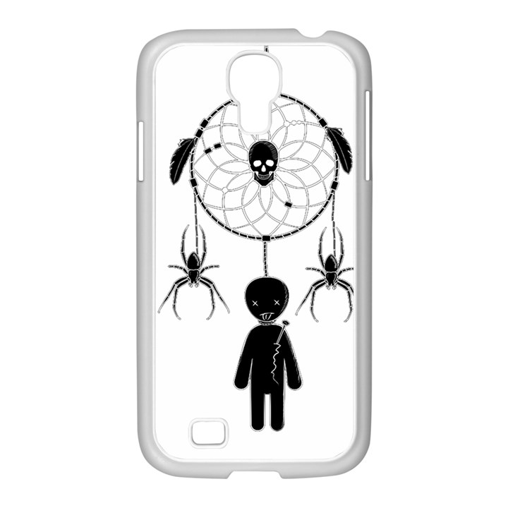 Voodoo dream-catcher  Samsung GALAXY S4 I9500/ I9505 Case (White)