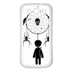 Voodoo Dream Catcher  Samsung Galaxy S3 Back Case (white)