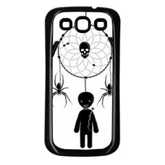 Voodoo Dream Catcher  Samsung Galaxy S3 Back Case (black)