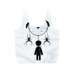Voodoo Dream Catcher  Full Print Recycle Bags (s)
