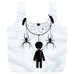Voodoo dream-catcher  Full Print Recycle Bags (L)  Front
