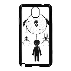 Voodoo Dream Catcher  Samsung Galaxy Note 3 Neo Hardshell Case (black)
