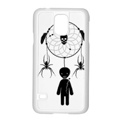 Voodoo Dream Catcher  Samsung Galaxy S5 Case (white)