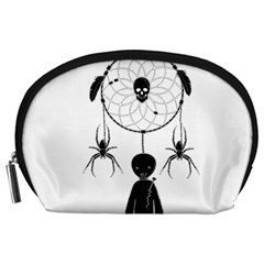 Voodoo Dream Catcher  Accessory Pouches (large)