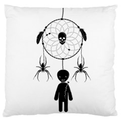 Voodoo Dream Catcher  Large Flano Cushion Case (one Side)