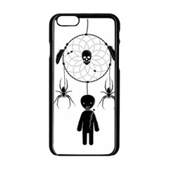 Voodoo Dream Catcher  Apple Iphone 6/6s Black Enamel Case