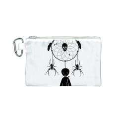 Voodoo Dream Catcher  Canvas Cosmetic Bag (s)