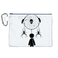 Voodoo Dream Catcher  Canvas Cosmetic Bag (xl)