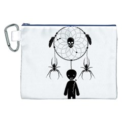 Voodoo Dream Catcher  Canvas Cosmetic Bag (xxl)