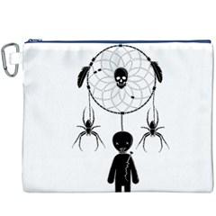 Voodoo Dream Catcher  Canvas Cosmetic Bag (xxxl)