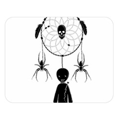 Voodoo Dream Catcher  Double Sided Flano Blanket (large)