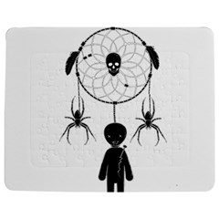 Voodoo Dream Catcher  Jigsaw Puzzle Photo Stand (rectangular)