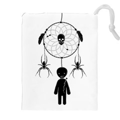 Voodoo Dream Catcher  Drawstring Pouches (xxl)