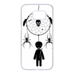 Voodoo Dream Catcher  Samsung Galaxy S7 Edge White Seamless Case