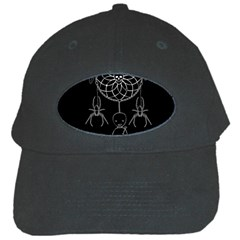 Voodoo Dream Catcher  Black Cap