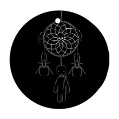 Voodoo Dream Catcher  Ornament (round)