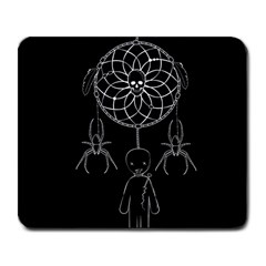 Voodoo Dream Catcher  Large Mousepads