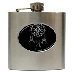 Voodoo Dream Catcher  Hip Flask (6 Oz)