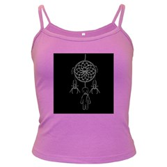 Voodoo Dream Catcher  Dark Spaghetti Tank