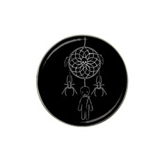 Voodoo Dream Catcher  Hat Clip Ball Marker (4 Pack)