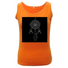 Voodoo Dream Catcher  Women s Dark Tank Top