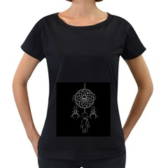 Voodoo Dream Catcher  Women s Loose Fit T Shirt (black)