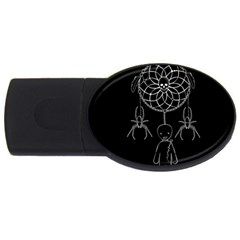 Voodoo Dream Catcher  Usb Flash Drive Oval (4 Gb)