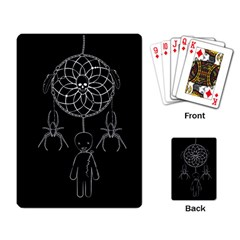 Voodoo Dream Catcher  Playing Card