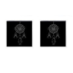 Voodoo Dream Catcher  Cufflinks (square)