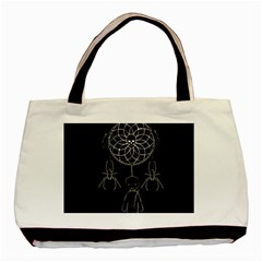 Voodoo Dream Catcher  Basic Tote Bag
