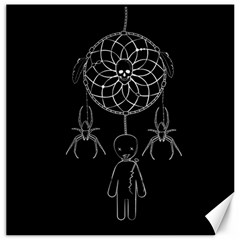 Voodoo Dream Catcher  Canvas 12  X 12