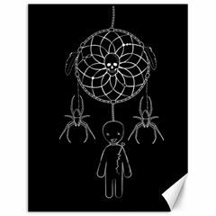 Voodoo Dream Catcher  Canvas 12  X 16
