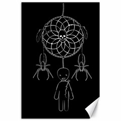 Voodoo Dream Catcher  Canvas 24  X 36