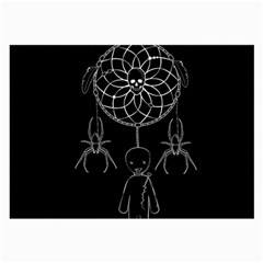 Voodoo Dream Catcher  Large Glasses Cloth