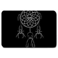 Voodoo Dream Catcher  Large Doormat