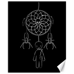 Voodoo Dream Catcher  Canvas 11  X 14