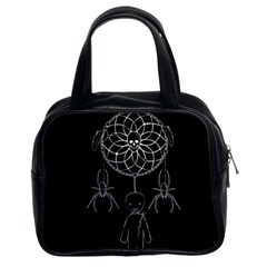 Voodoo Dream Catcher  Classic Handbags (2 Sides)