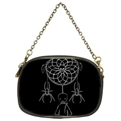 Voodoo Dream Catcher  Chain Purses (one Side)