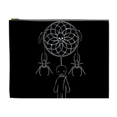 Voodoo Dream Catcher  Cosmetic Bag (xl)