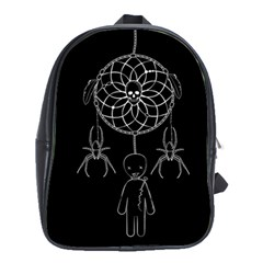Voodoo Dream Catcher  School Bag (large)