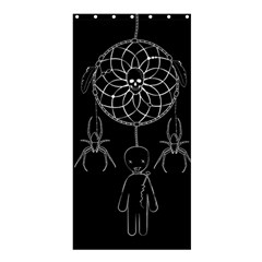Voodoo Dream Catcher  Shower Curtain 36  X 72  (stall)