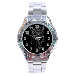 Voodoo Dream Catcher  Stainless Steel Analogue Watch