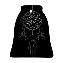Voodoo Dream Catcher  Bell Ornament (two Sides)
