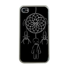 Voodoo Dream Catcher  Apple Iphone 4 Case (clear)